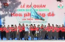 TP Hồ Chí Minh ra quân Chiến dịch tình nguyện Hoa phượng đỏ 2019