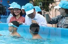 Phát động phòng ngừa rủi ro thiên tai liên quan đến nước cho trẻ em