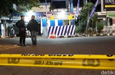 Đánh bom tự sát phía trước trụ sở cảnh sát ở Indonesia