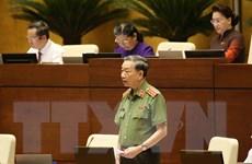 Đại biểu Quốc hội đánh giá cao phần trả lời của Bộ trưởng Công an