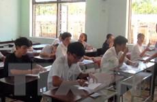 Hơn 6.400 thí sinh tại Quảng Bình hoàn thành bài thi lại môn Ngữ văn