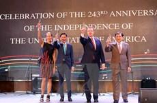 Kỷ niệm 243 năm Quốc khánh Mỹ tại Thành phố Hồ Chí Minh