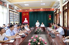 Thông tin về xét xử vụ án sai phạm trong đền bù Dự án thủy điện Sơn La