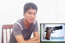 Quảng Ngãi: Phá án nhanh vụ dùng súng cướp tài sản
