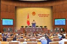 Quốc hội sẽ biểu quyết hai nghị quyết và cho ý kiến hai dự án luật