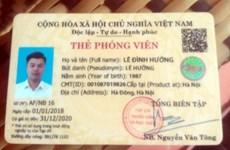 Tuyên Quang điều tra vụ giả danh phóng viên tạp chí