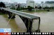 Trung Quốc: Sập cầu làm 2 người mất tích tại Quảng Đông
