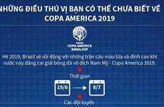 Những điều thú vị bạn có thể chưa biết về Copa America 2019