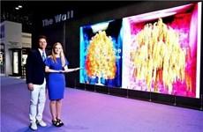 """Samsung sắp phát hành 'bức tường tivi"""" trên thị trường toàn cầu"""