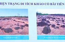 Thành đất hình tròn Lộc Tấn 2 ở Bình Phước là di tích khảo cổ quốc gia