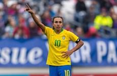 """""""Cô gái Vàng"""" bóng đá Brazil lập kỷ lục ghi bàn tại một kỳ World Cup"""