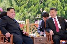 Nhà lãnh đạo Triều Tiên hội đàm với Chủ tịch Trung Quốc Tập Cận Bình