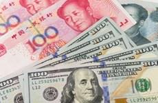 Tỷ giá đồng Việt Nam với USD giảm, đồng Nhân dân tệ đồng loạt tăng