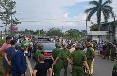 Đình chỉ hai cán bộ công an liên quan đến vụ vây xe công an ở Đồng Nai