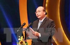 Thủ tướng dự Lễ trao Giải Báo chí Quốc gia lần thứ XIII năm 2018