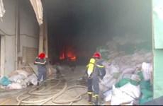Thông tin chính thức về vụ cháy trong Khu công nghiệp Sóng Thần 2