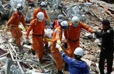 Thương vong tăng trong vụ sập nhà cao tầng ở Campuchia