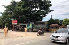 Thanh Hóa: Xe tải đâm trực diện xe máy làm 4 người thương vong
