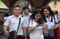 Thí sinh Thành phố Hồ Chí Minh phấn khởi vì làm bài tốt