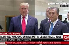 Tổng thống Trump: Mỹ-Triều Tiên sẽ nối lại các cuộc đàm phán hạt nhân