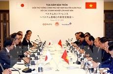 Thủ tướng tọa đàm với lãnh đạo nhiều tập đoàn hàng đầu của Nhật Bản