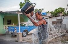 Cuba đang trải qua ngày Hè nắng nóng kỷ lục, nhiệt độ gần 40 độ C