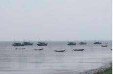 Bão số 2 cách đất liền các tỉnh từ Hải Phòng đến Nam Định khoảng 180km