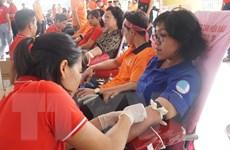 Thu nhận hơn 1500 túi máu từ ngày hội Giọt hồng thành phố mang tên Bác
