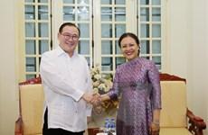 Tăng cường hợp tác hữu nghị, giao lưu nhân dân Việt Nam-Philippines