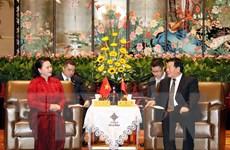 Hình ảnh hoạt động của Chủ tịch Quốc hội trong chuyến thăm Trung Quốc