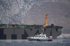 Chính quyền Gibraltar khẳng định siêu tàu chở dầu của Iran chở đầy dầu