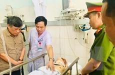 Vụ quái xế tông cảnh sát: Thượng úy Quý đã qua cơn nguy kịch