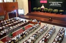 """Thành phố Hồ Chí Minh quyết tâm xử lý dứt điểm các vấn đề """"nổi cộm"""""""