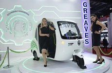 Thị trường xe lam chạy điện 3 bánh nở rộ tại Ấn Độ