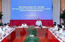 Thủ tướng chủ trì họp Tiểu ban KT-XH với khu vực miền Trung Tây Nguyên