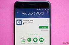 Phiên bản Android của Microsoft Word vượt mốc 1 tỷ lượt cài đặt