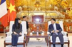 Hà Nội tăng hợp tác với Pháp lĩnh vực phát triển giao thông, đô thị
