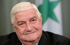 Ngoại trưởng Syria kêu gọi mở rộng quan hệ với Iran
