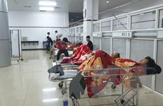 Vụ lật xe khách giường nằm ở Đắk Lắk: Tích cực cấp cứu các nạn nhân