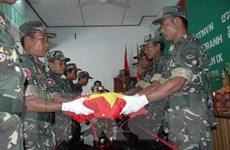 Quân khu 7 hồi hương 446 hài cốt liệt sỹ hy sinh tại Campuchia