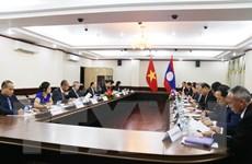 Tham khảo chính trị hai nước Việt Nam-Lào lần thứ tư