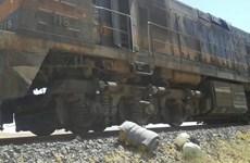 Tàu chở hóa chất tại Syria bị trúng mìn, nghi do tàn quân IS thực hiện