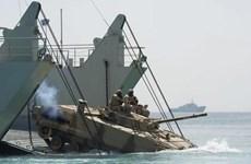 Quân đội Ai Cập, Mỹ và UAE tập trận chung tại Biển Đỏ