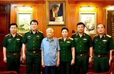 Đại tướng Lương Cường thăm các nguyên lãnh đạo Đảng, Nhà nước