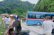 Vụ tai nạn giao thông trên Quốc lộ 2: Xác định danh tính nạn nhân