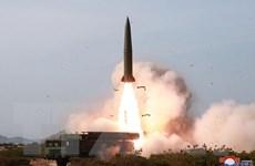 Giới chức Nhật Bản xác nhận Triều Tiên phóng 2 tên lửa tầm ngắn