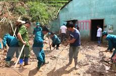 Hà Giang khẩn trương khắc phục hậu quả sạt lở đất ở Hoàng Su Phì