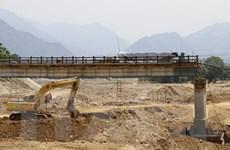 Yên Bái: Cầu Ngòi Thia sẽ thông xe trở lại vào đầu tháng 9