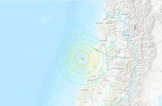 Động đất cường độ 6,8 làm rung chuyển khu vực bờ biển Chile