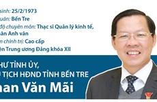 Chân dung Bí thư Tỉnh ủy, Chủ tịch HĐND tỉnh Bến Tre Phan Văn Mãi